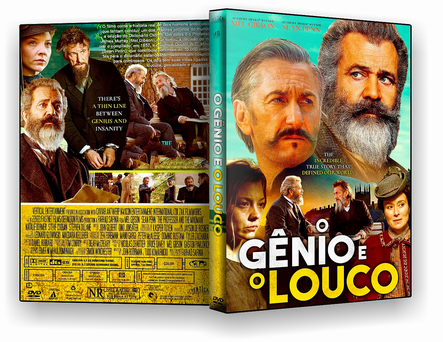 DVD O Gênio e o Louco 2019 - ISO