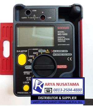 Jual InsulAtion Tester Sanwa MG1000 di Gresik