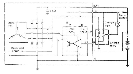 Mesin Hidup Tegangan Output Di Bawah Standar ( <14,7 Volt )