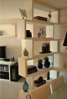 baffle shelf