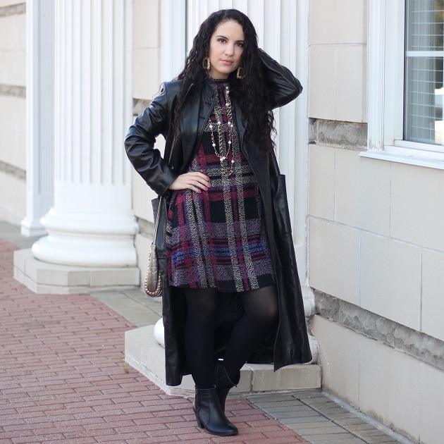 Long Black Leather Jacket