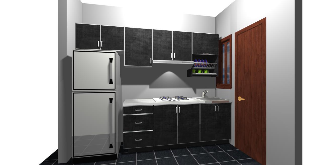 Kabinet dapur murah promosi 1 for Kitchen cabinet murah 2016