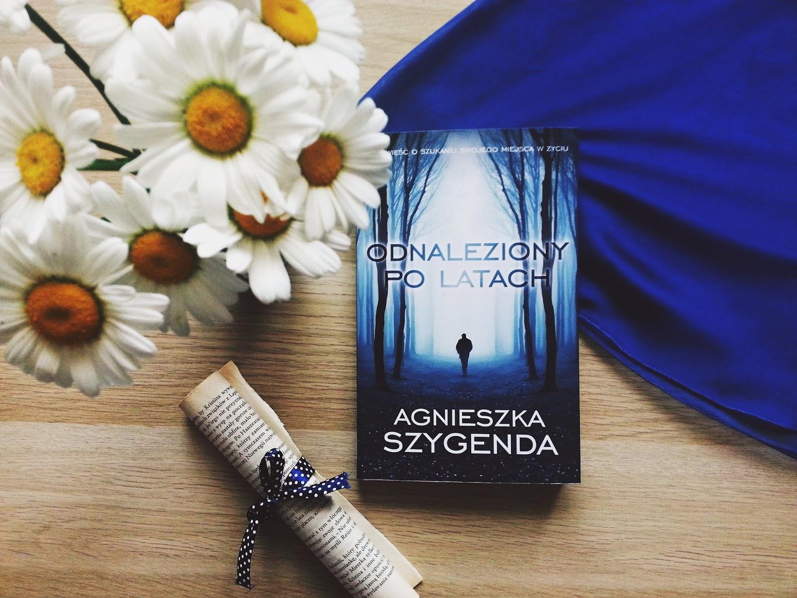 Odnaleziony po latach, książka, recenzja, Agnieszka Szygenda, Edipresse Książki