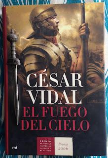 Portada del libro El fuego en el cielo, de César Vidal