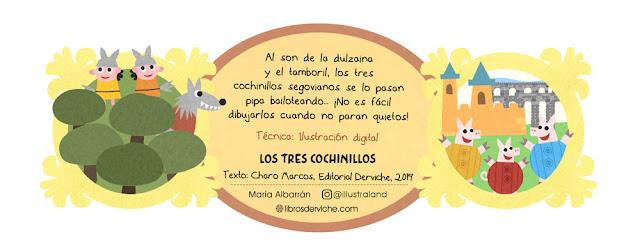 Exposición Segovia de Cuento - María Albarrán Ilustración