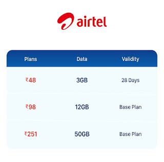 Airtel double data offer