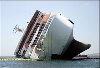tipped ship