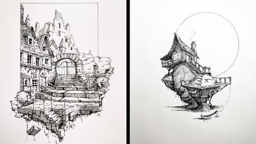 00-Fantasy-Architecture-Michael-Lindberg-www-designstack-co