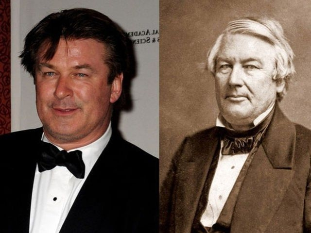 Alec Baldwin and Millard Fillmore