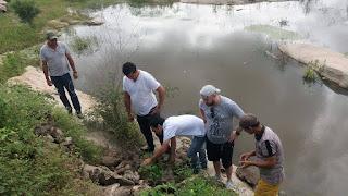Equipe do Museu do homem do Curimataú visita local onde foi encontrado fóssil de preguiça gigante em Baraúna