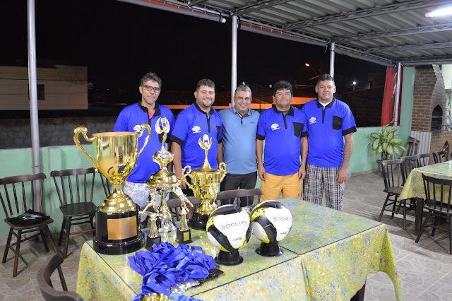 BCN ESPORTE: Entrega de kits dos árbitros da Copa Regional de Futebol Society foi feita hoje.