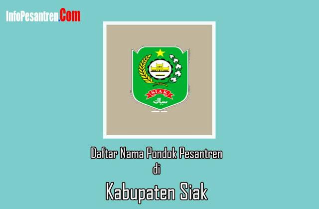 Pondok Pesantren di Kabupaten Siak