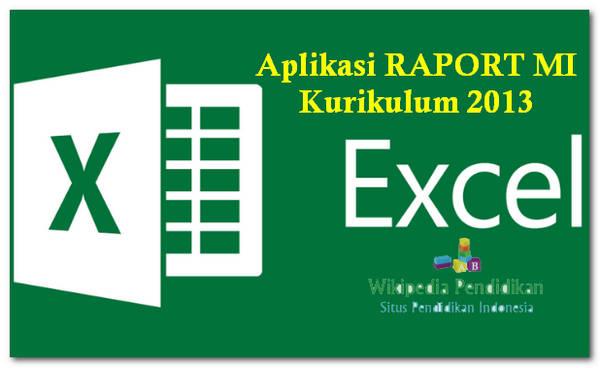 Aplikasi RAPORT MI Kurikulum 2013