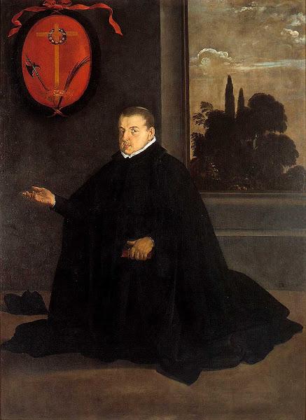 Диего Веласкес - Портрет дона Кристобаля де Рибера (1620)
