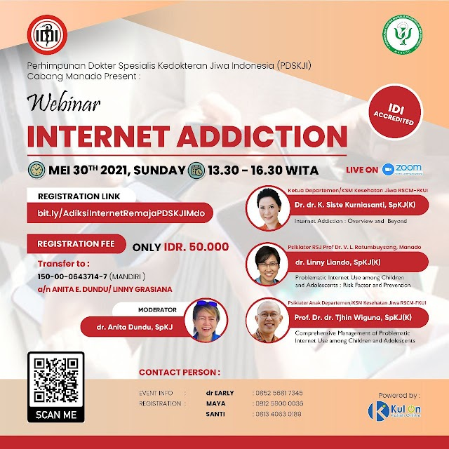 "(SKP IDI) Webinar ""Internet Addiction"""