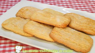 Receta fácil de los tradicionales galletones de pueblo