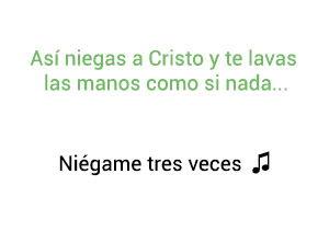 Silvestre Dangond Niégame Tres Veces significado de la canción.