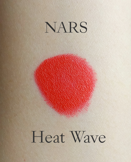 NARS Heat Wave swatch