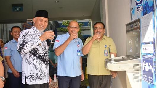 PDAM Padang Sediakan Spot Air Siap Minum di RSUP M Djamil