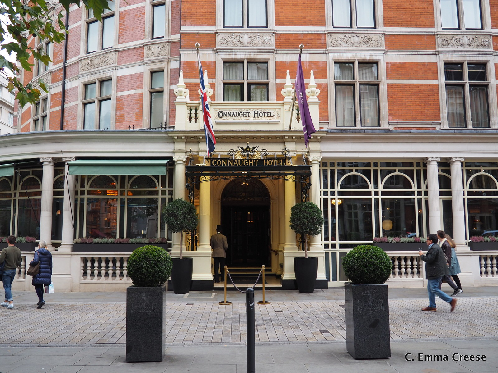 A Two Michelin Star Lunch: Hélène Darroze at The Connaught Hotel, Mayfair