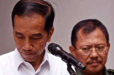 Jokowi Marah Pakai Teks