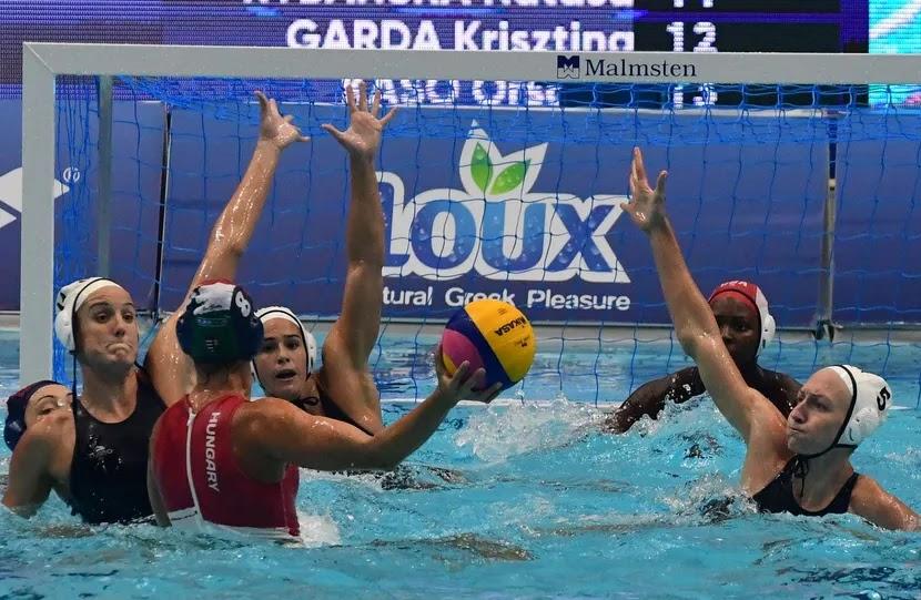 EUA e Hungria na final da Liga Mundial de Polo Aquático Feminino