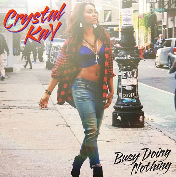 "Buy Crystal Kay's ""Busy doing nothing"" on iTunes 