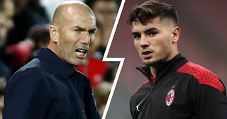 Brahim Diaz reveals what Real Madrid boss Zidane told him before AC Milan loan move