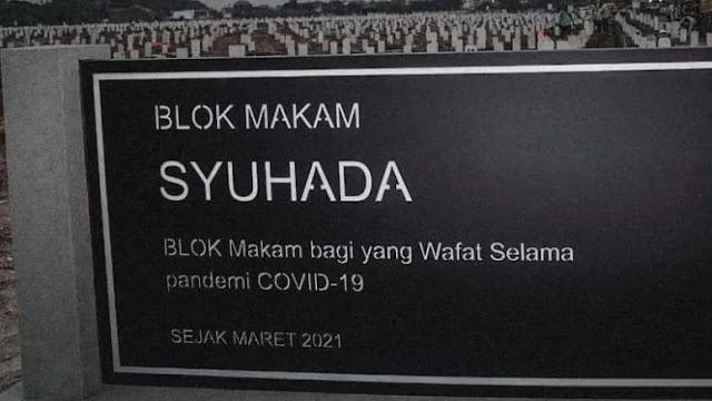 Anies Jelaskan Arti Blok Makam Syuhada di TPU Rorotan