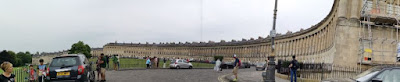 Bath, Royal Crescent.
