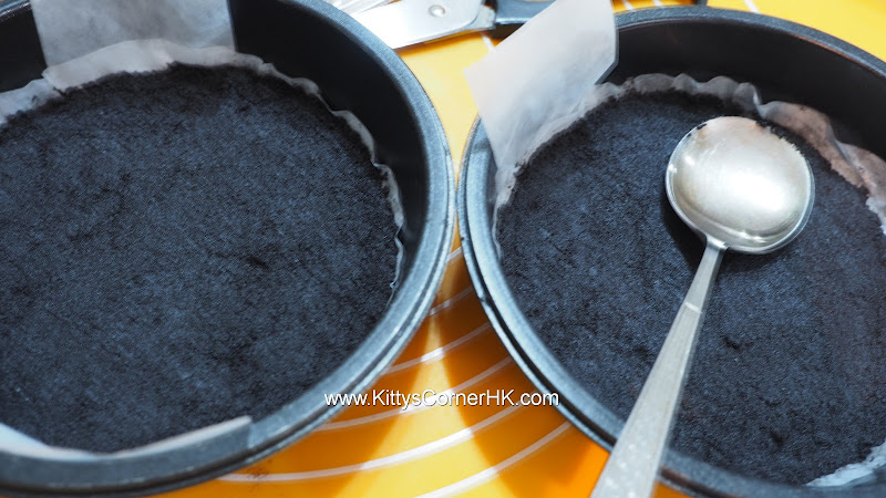 Chocolate Biscuit Base recipe 朱古力餅底食譜
