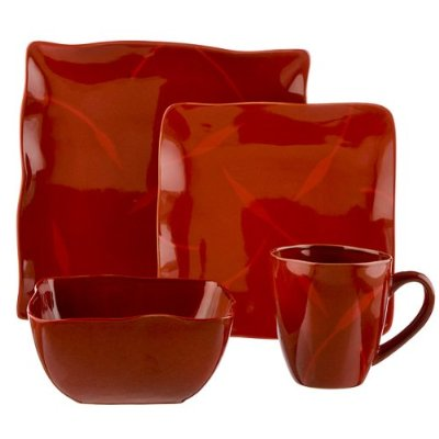 Red Dinnerware 1