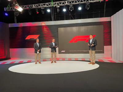 Reginaldo Leme, Felipe Giaffone e Sergio Mauricio comandaram a transmissão da F1 na Band. Crédito: Leandro Reale/Band