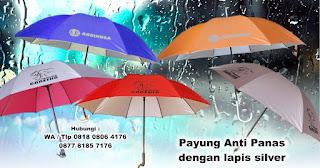 Payung merupakan Media promosi berjalan