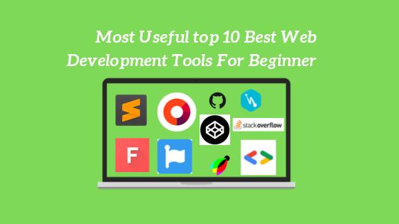 10 best web development tools