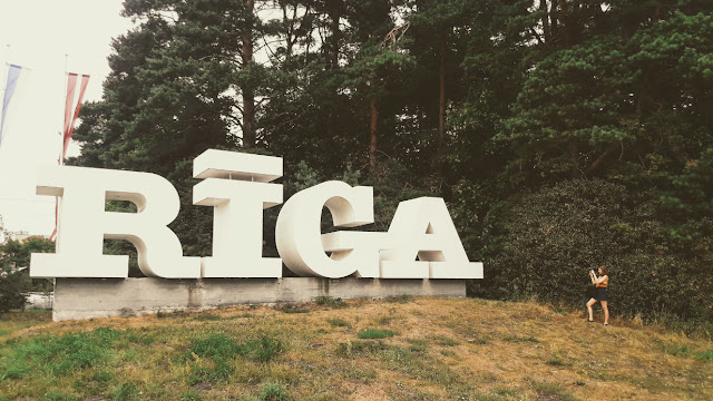Rīgas zīme, CAPITAL R, Riga city letters sign, 2019