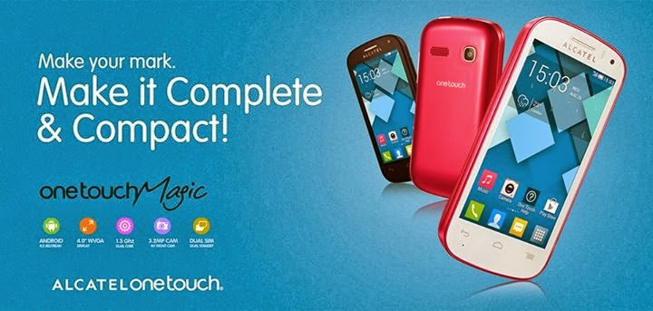 Alcatel One Touch Magic: Specs, Price and Availability in the Philippines