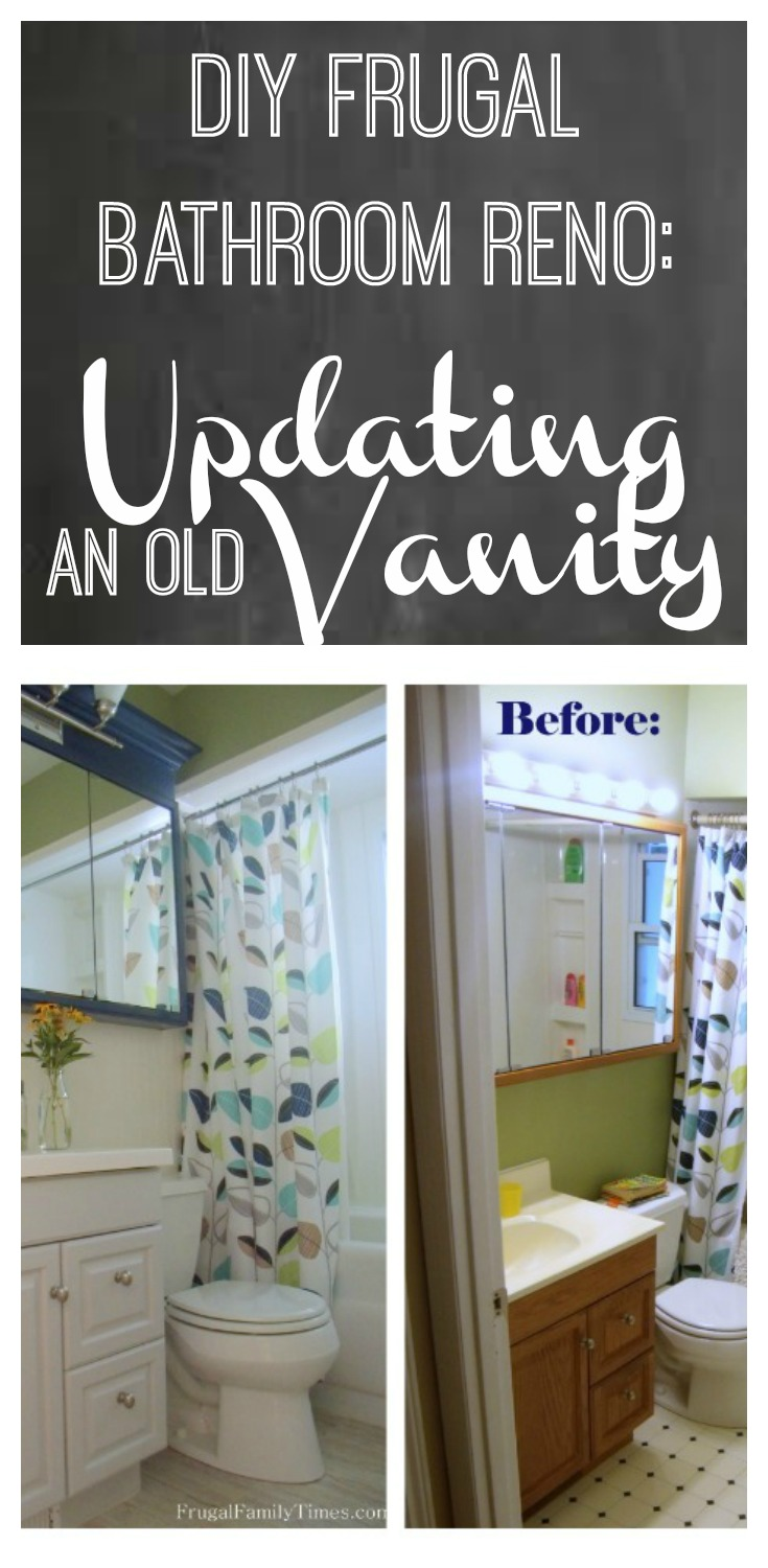 Bathroom Vanity Makeover A Simple Affordable Update