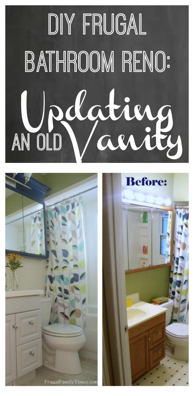 Bathroom Vanity Makeover  a Simple Affordable Update