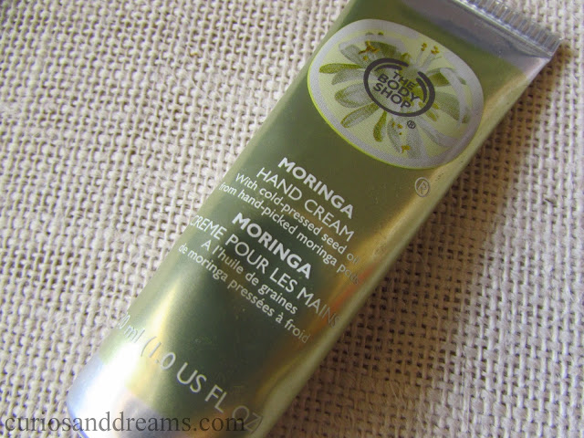 The Body Shop Hand Cream review, The Body Shop Moringa Hand Cream review