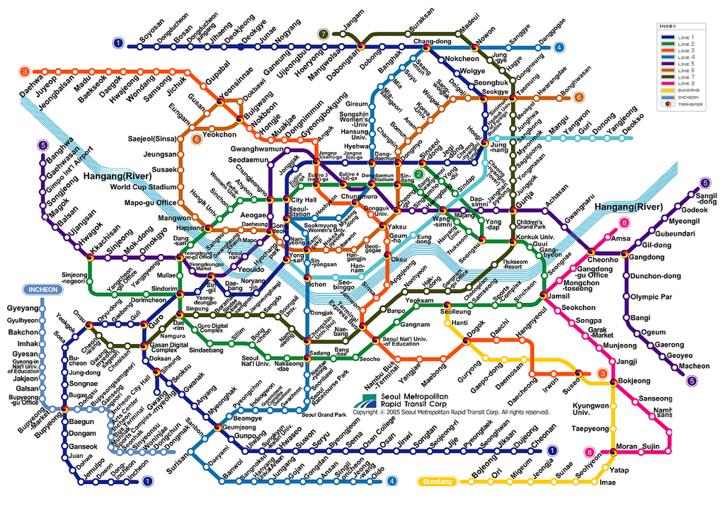 1 Subway Map.Kim S Korea Comprehensive Seoul Trip Guide Run Down Part 1