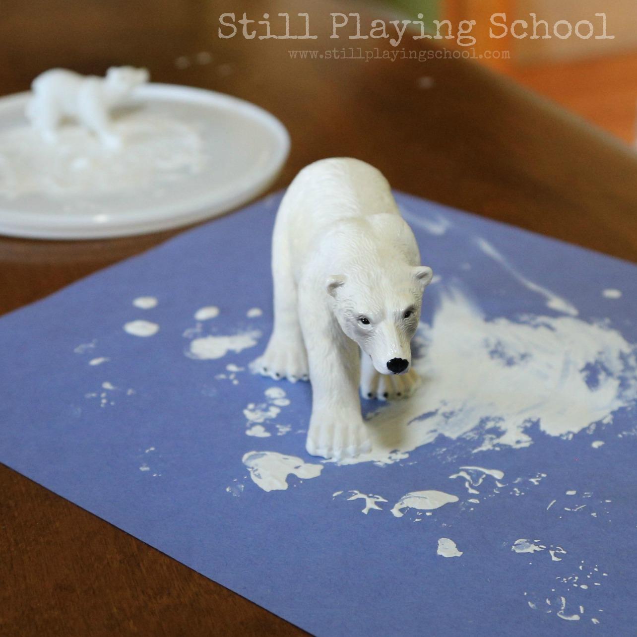 Polar Bear Paw Arrays