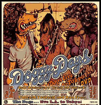 """Doggy Days . . . The Dogs Live L.A. To Tokyo""  DVD x 2 Disc Set"