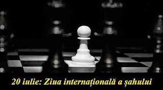 20 iulie: Ziua internațională a șahului