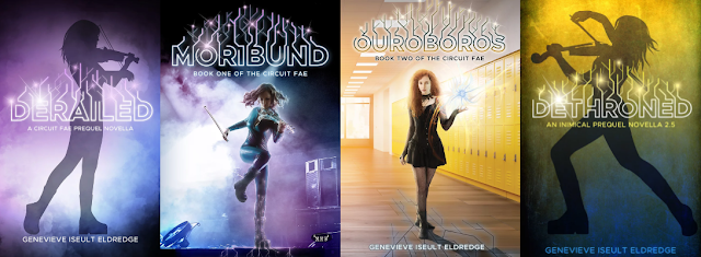 """The Circuit Fae Series"" by Genevieve Iseult Eldredge"
