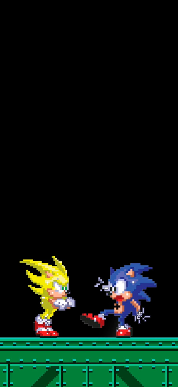 wallpaper-amoled-sonic