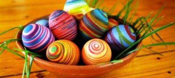 come fare le uova decorate per pasqua
