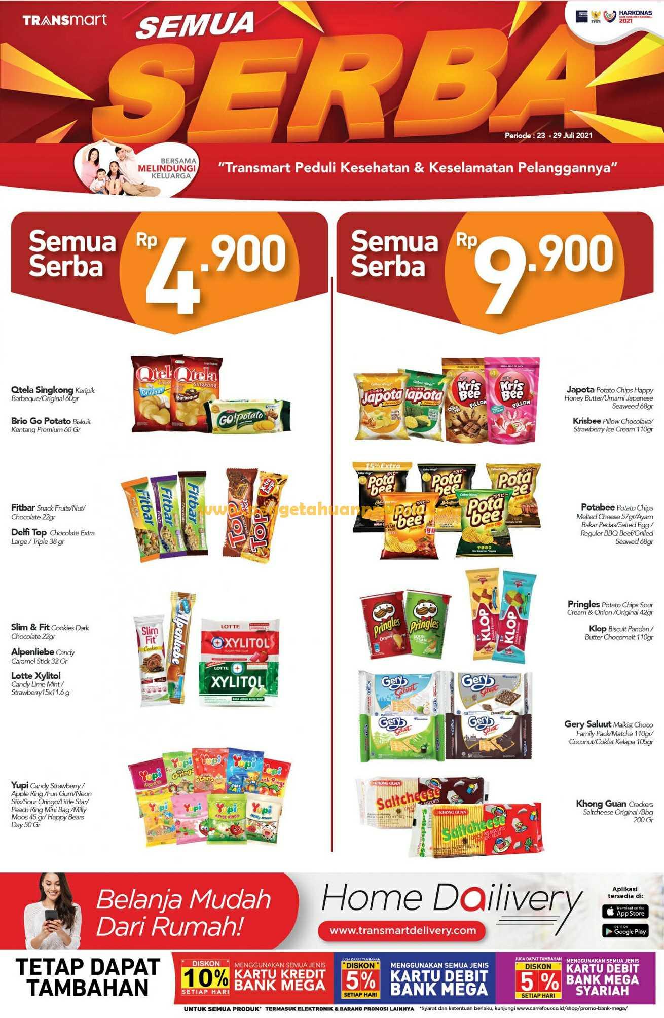 Katalog Promo Carrefour Weekend Periode 23 - 27 Juli 2021