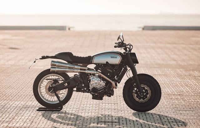 Yamaha XSR700 By Rua Machines Hell Kustom