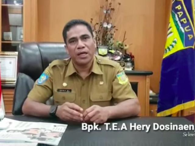 Kemendagri Akan Panggil Sekda Hery soal Video 'Papua Tanah Israel Kedua'